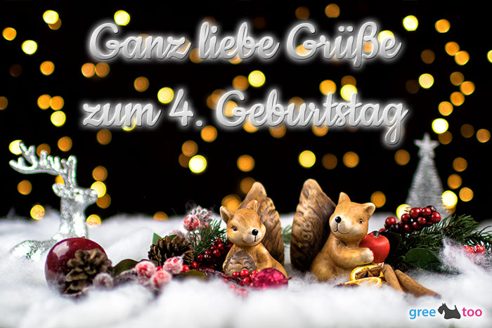 Zum 4 Geburtstag Bild - 1gb.pics