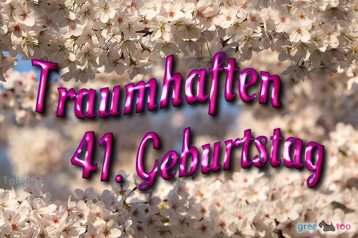 Traumhaften 41 Geburtstag Bild - 1gb.pics
