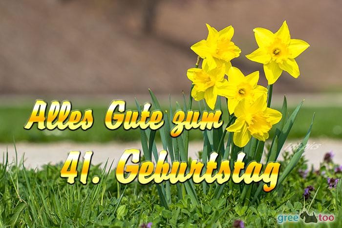 Alles Gute 41 Geburtstag Bild - 1gb.pics