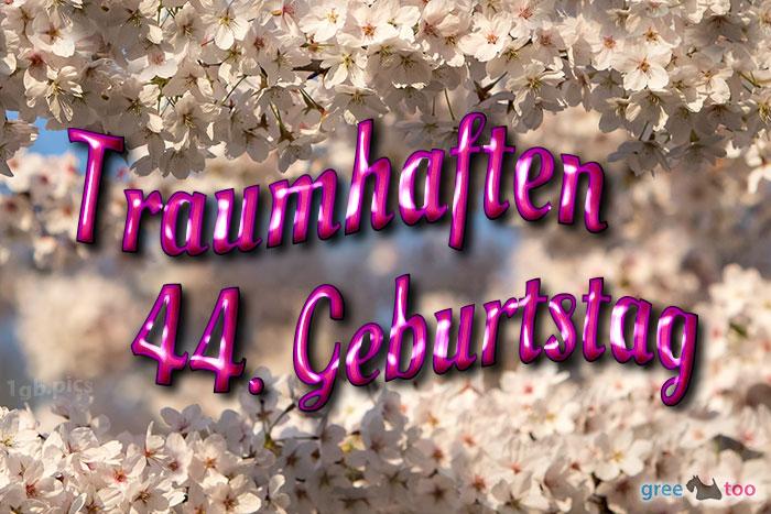 Traumhaften 44 Geburtstag Bild - 1gb.pics
