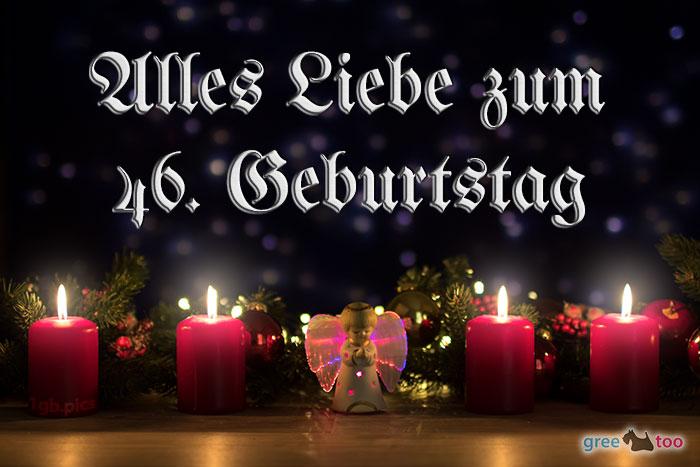 Alles Liebe 46 Geburtstag Bild - 1gb.pics