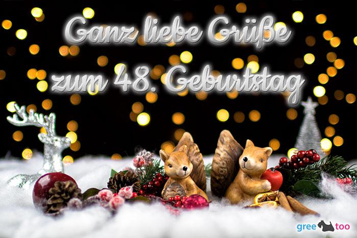 Zum 48 Geburtstag Bild - 1gb.pics
