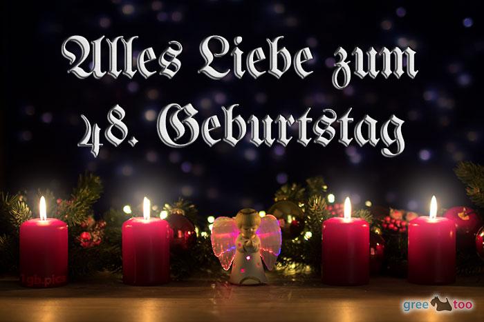 Alles Liebe 48 Geburtstag Bild - 1gb.pics