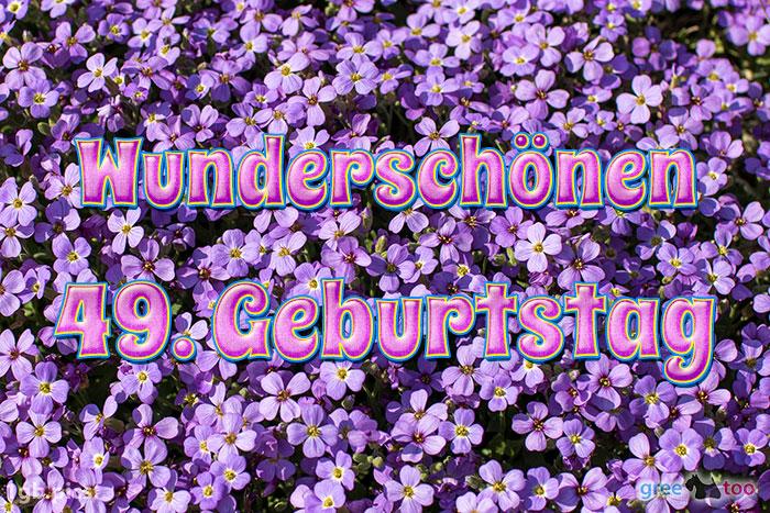 Wunderschoenen 49 Geburtstag Bild - 1gb.pics