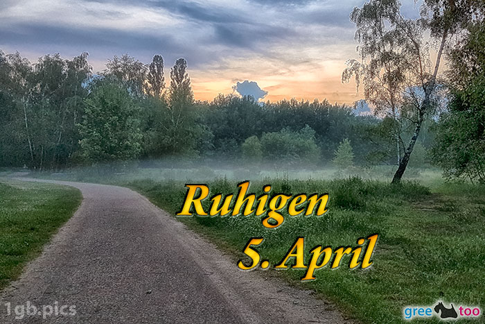 Nebel Ruhigen 5 April Bild - 1gb.pics