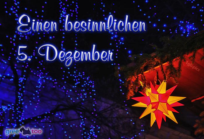 Stern Lichter Besinnlichen 5 Dezember Bild - 1gb.pics
