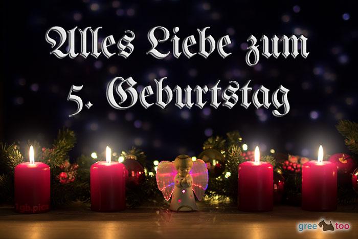 Alles Liebe 5 Geburtstag Bild - 1gb.pics