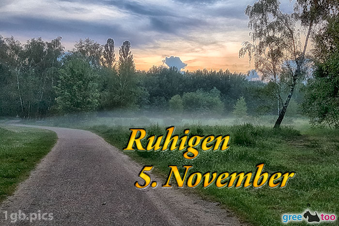 Nebel Ruhigen 5 November Bild - 1gb.pics