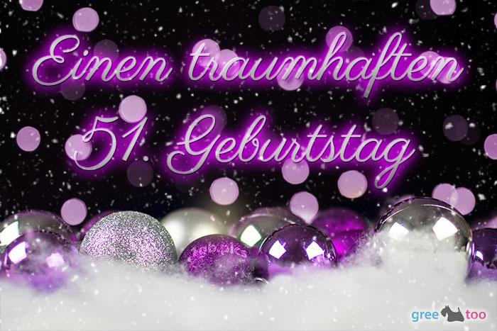 Traumhaften 51 Geburtstag Bild - 1gb.pics