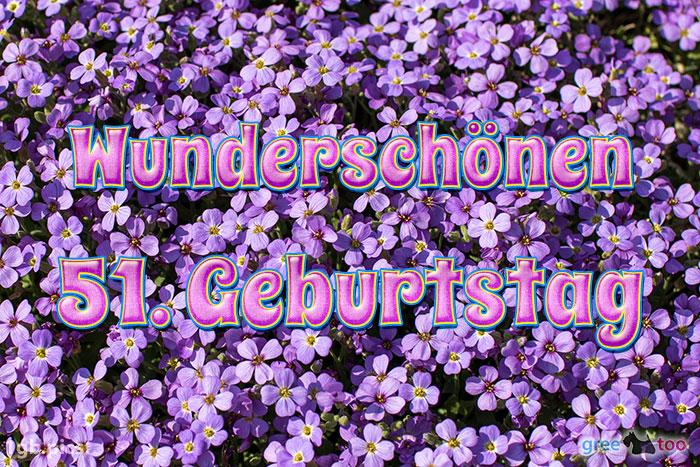 Wunderschoenen 51 Geburtstag Bild - 1gb.pics