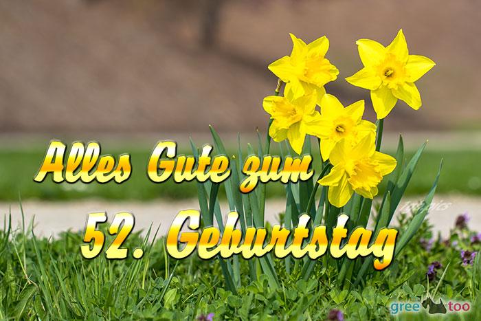 Alles Gute 52 Geburtstag Bild - 1gb.pics