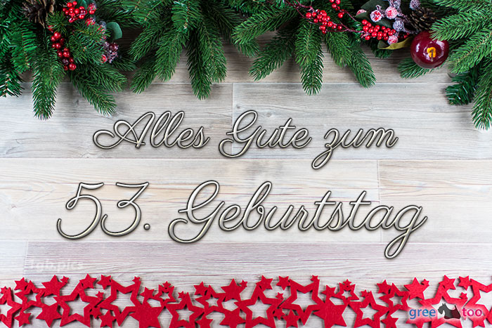 Alles Gute Zum 53 Geburtstag Bild - 1gb.pics