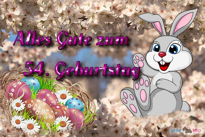 Alles Gute 54 Geburtstag Bild - 1gb.pics