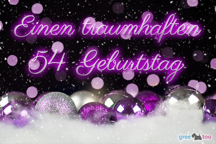Traumhaften 54 Geburtstag Bild - 1gb.pics