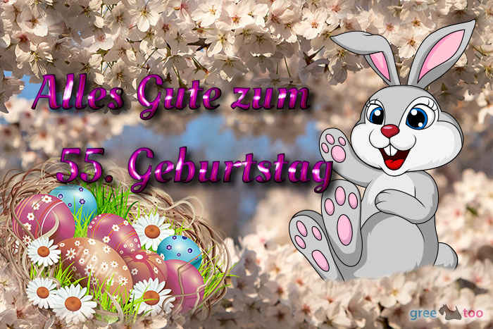 Alles Gute 55 Geburtstag Bild - 1gb.pics