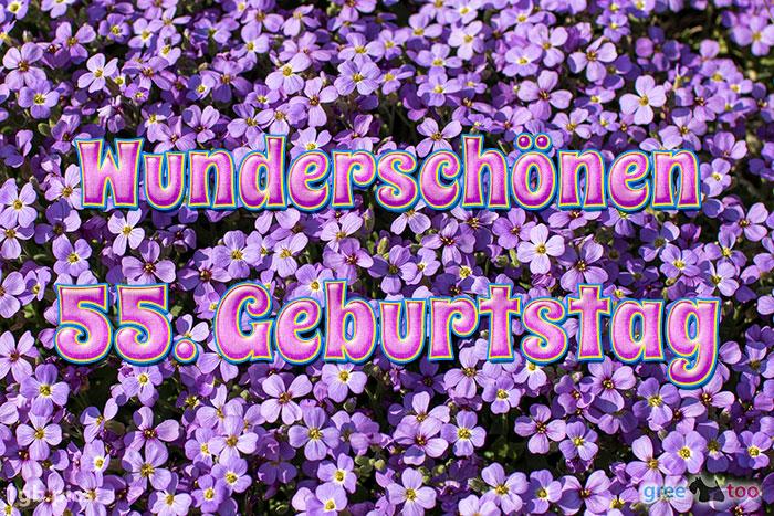 Wunderschoenen 55 Geburtstag Bild - 1gb.pics