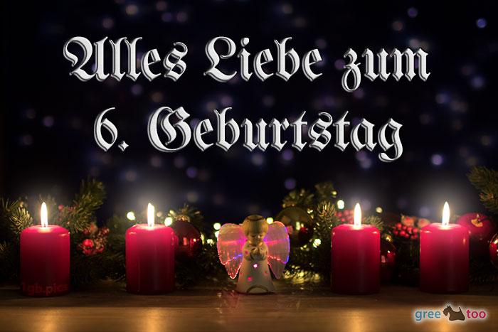 Alles Liebe 6 Geburtstag Bild - 1gb.pics