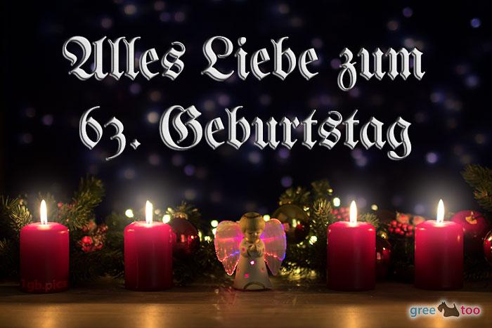 Alles Liebe 63 Geburtstag Bild - 1gb.pics