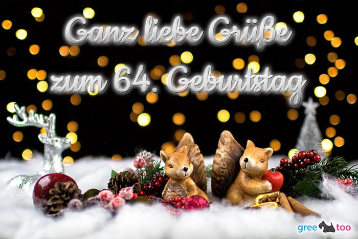 Zum 64 Geburtstag Bild - 1gb.pics
