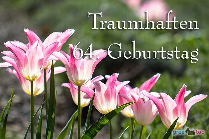 Traumhaften 64 Geburtstag Bild - 1gb.pics