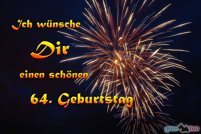 Schoenen 64 Geburtstag Bild - 1gb.pics