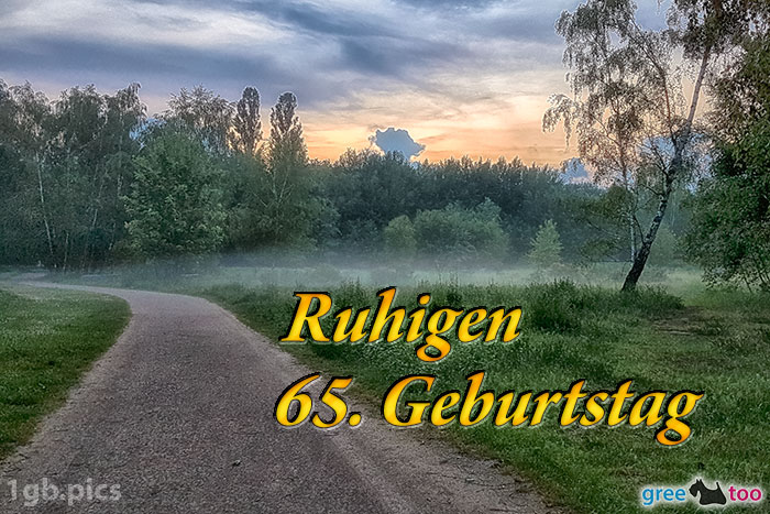 Nebel Ruhigen 65 Geburtstag Bild - 1gb.pics