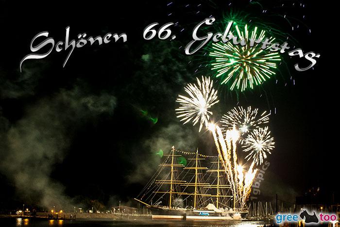 Coolphotos De Grusskarten Karten Zum 66 Geburtstag