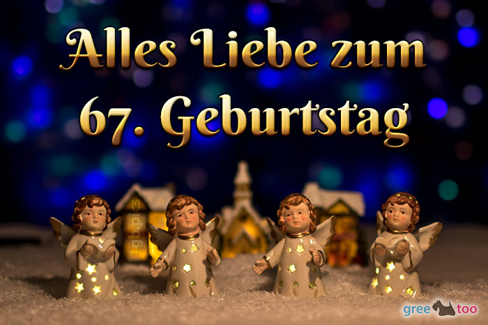 Alles Liebe 67 Geburtstag Bild - 1gb.pics