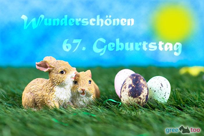 Wunderschoenen 67 Geburtstag Bild - 1gb.pics