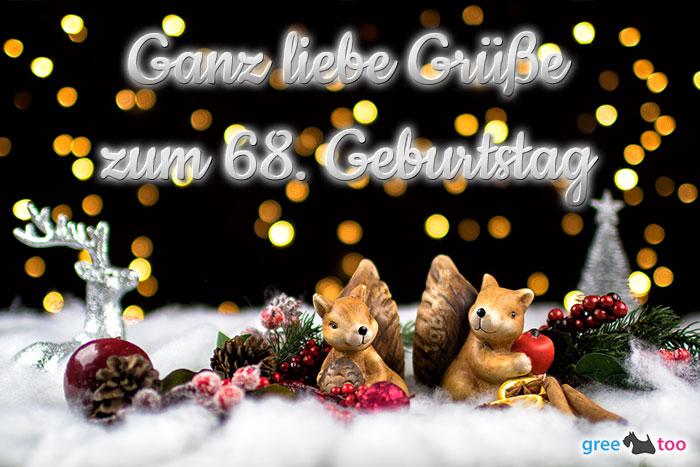 Zum 68 Geburtstag Bild - 1gb.pics