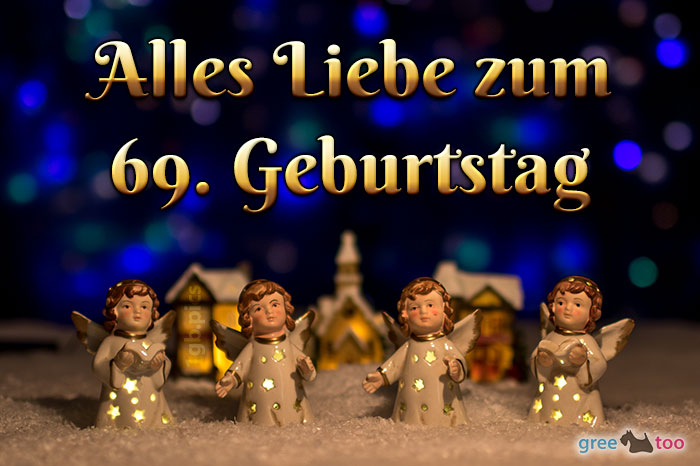 Alles Liebe 69 Geburtstag Bild - 1gb.pics