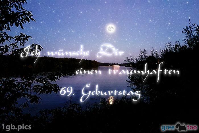 Mond Fluss Einen Traumhaften 69 Geburtstag Bild - 1gb.pics