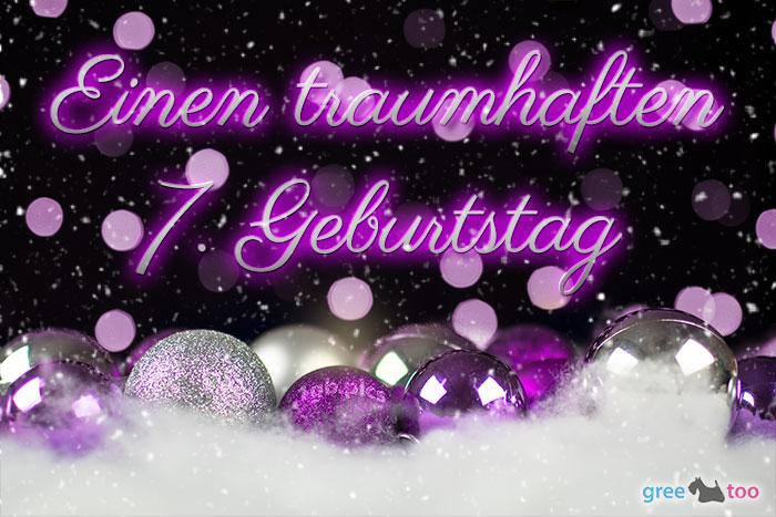 Traumhaften 7 Geburtstag Bild - 1gb.pics