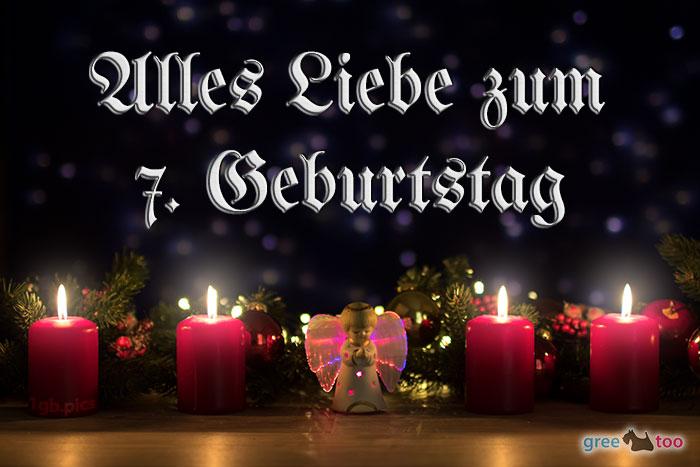 Alles Liebe 7 Geburtstag Bild - 1gb.pics