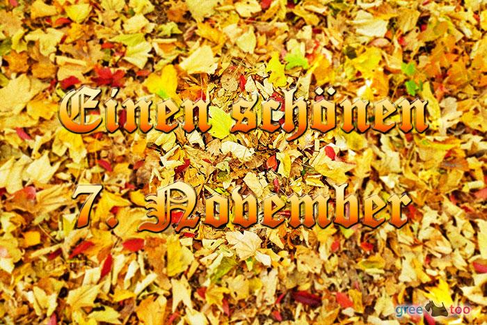 Einen Schoenen 7 November Bild - 1gb.pics