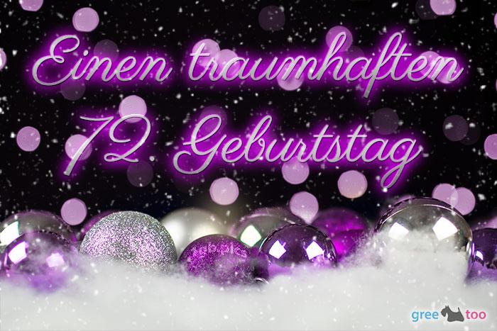 Traumhaften 72 Geburtstag Bild - 1gb.pics