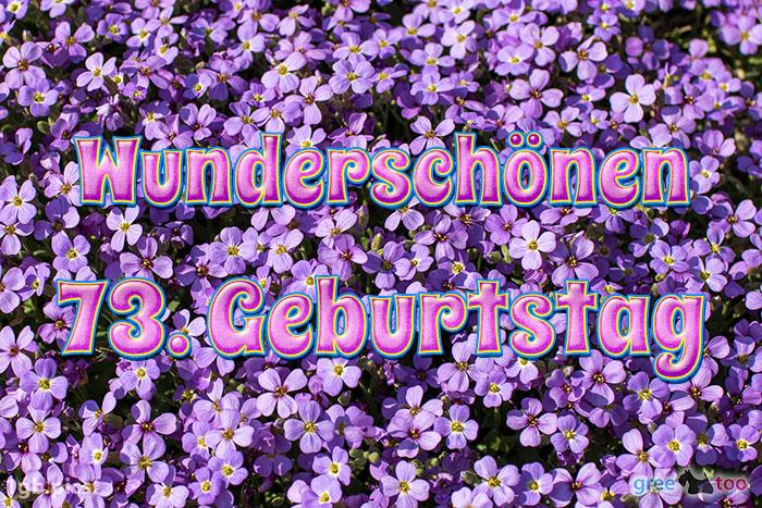 Wunderschoenen 73 Geburtstag Bild - 1gb.pics