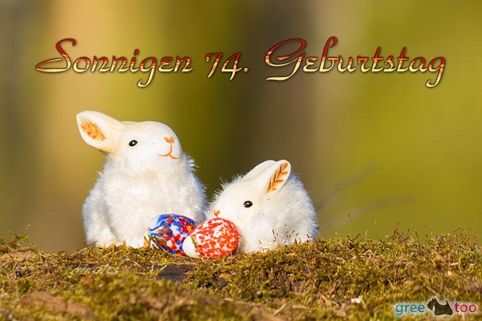 Sonnigen 74 Geburtstag Bild - 1gb.pics