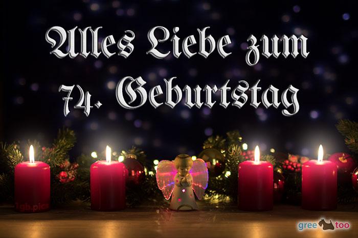 Alles Liebe 74 Geburtstag Bild - 1gb.pics