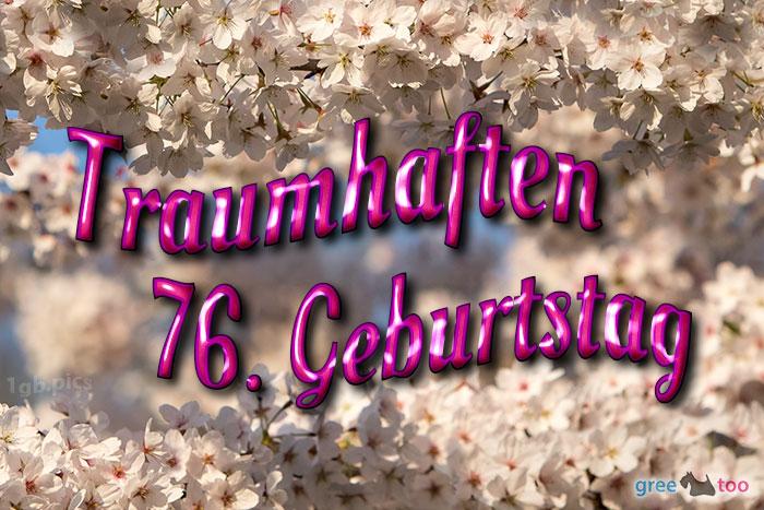 Traumhaften 76 Geburtstag Bild - 1gb.pics