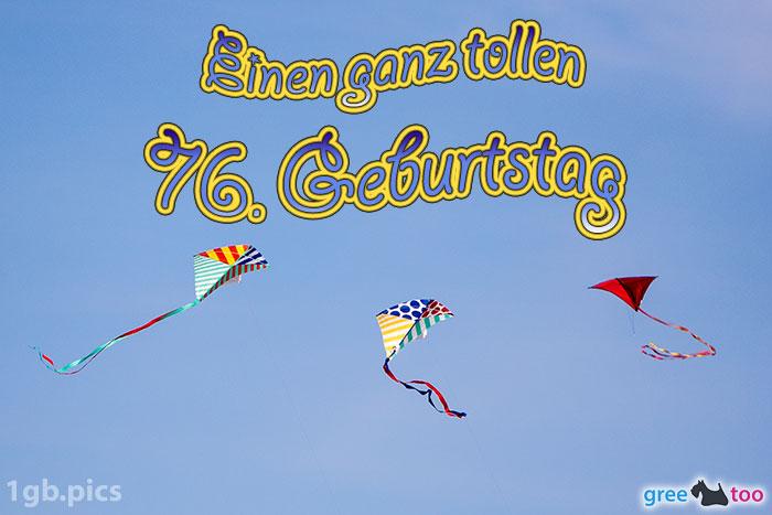 Drachen Einen Ganz Tollen 76 Geburtstag Bild - 1gb.pics