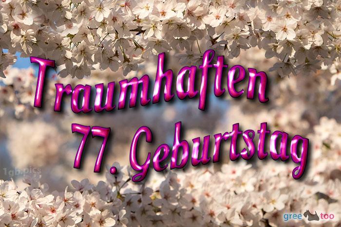 Traumhaften 77 Geburtstag Bild - 1gb.pics