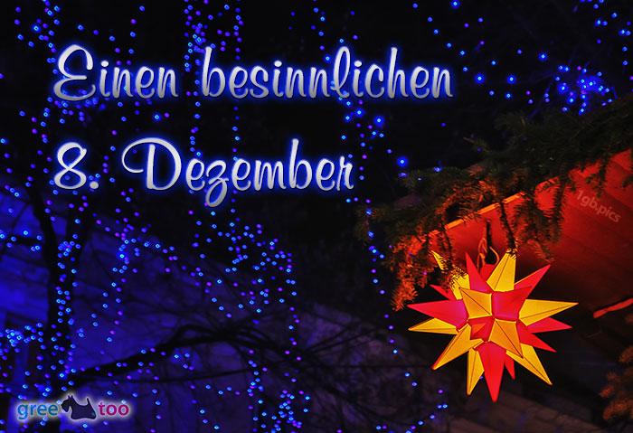 Stern Lichter Besinnlichen 8 Dezember Bild - 1gb.pics