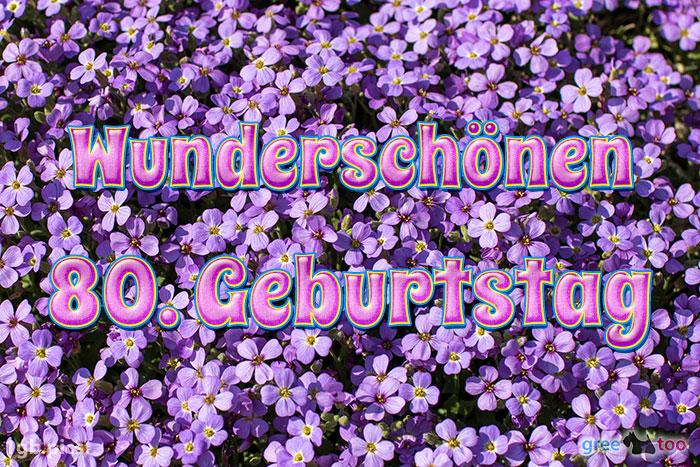 Wunderschoenen 80 Geburtstag Bild - 1gb.pics