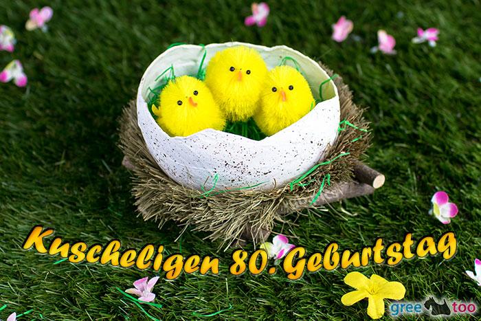 Kuscheligen 80 Geburtstag Bild - 1gb.pics