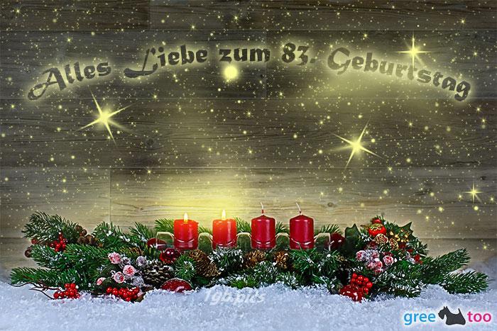 Alles Liebe Zum 83 Geburtstag Bild - 1gb.pics