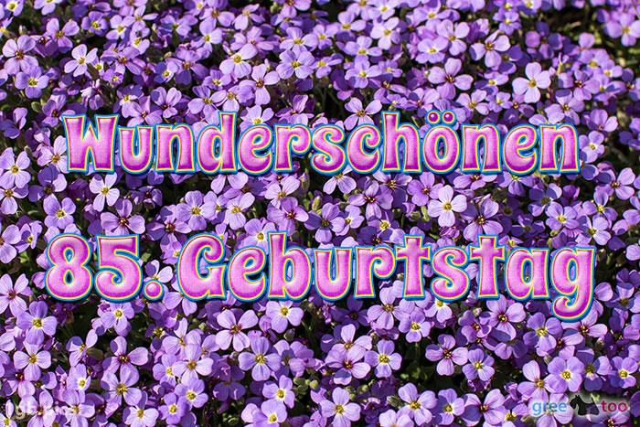 Wunderschoenen 85 Geburtstag Bild - 1gb.pics