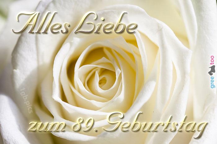 Zum 89 Geburtstag Bild - 1gb.pics