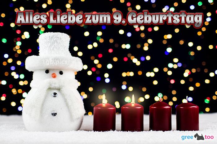 Alles Liebe Zum 9 Geburtstag Bild - 1gb.pics