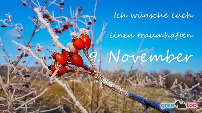 Einen Traumhaften 9 November Bild - 1gb.pics